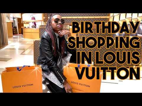 Luxury Birthday Shopping in ROME! | Louis Vuitton, Balenciaga, Saint Laurent etc