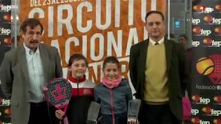 TyC Premium 1 2018. Resumen Circuito Nacional de Menores de Pádel, Valladolid