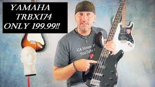 Yamaha TRBX174 4-String Bass