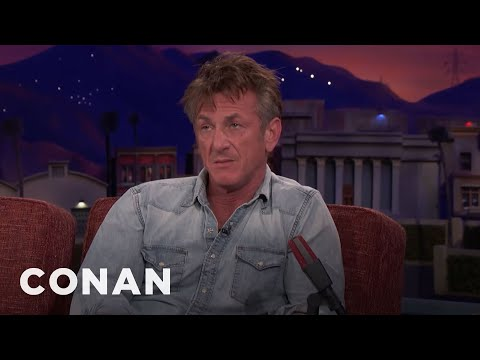 Sean Penn On His Long History With Steve Bannon   CONAN on TBS