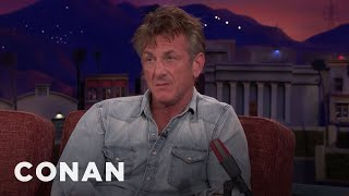 Sean Penn On His Long History With Steve Bannon  - CONAN on TBS