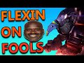 MALPHITE TOP FLEXING ALL OVER FOOLS - League of Legends With Friends