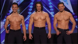 3 Hot Guys Make Ladies GO CRAZYYYYY!!!