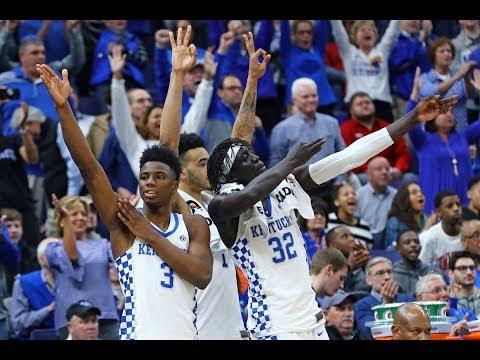 Kentucky vs Tennessee Basketball  SEC Final Full Highlights / 11 March 2018