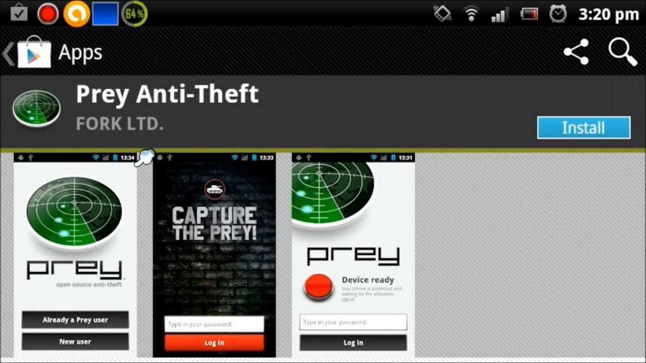Phone Protect Android Phone From Theft how to track and protect an android phone with prey anti theft theft