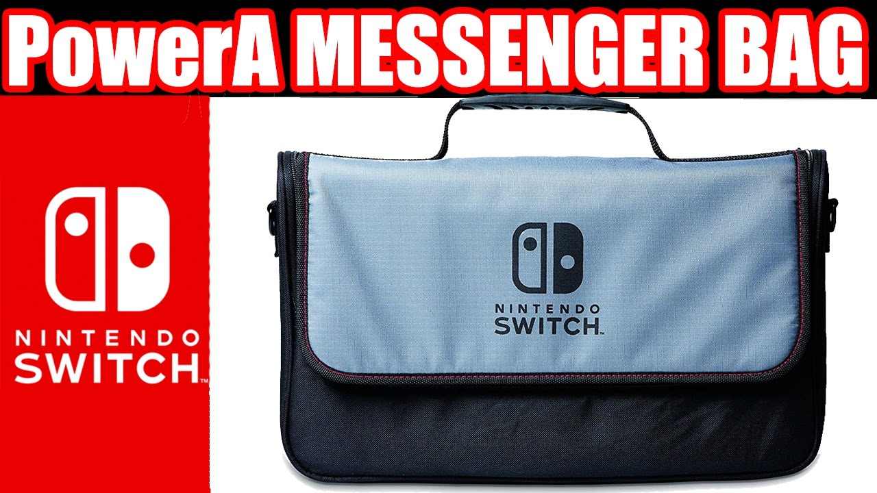 PowerA Nintendo Switch Everywhere Messenger Bag REVIEW (Nintendo Switch  Accessories) 6dda08d04c71a