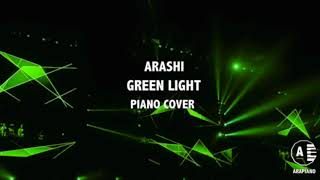 嵐 Green Light Piano cover(耳コピ): ??? ????? ??? ??