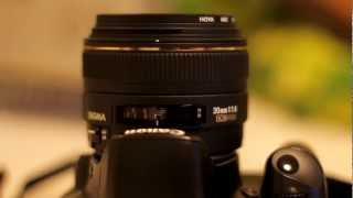 Sigma 30mm f1.4 Lens Review (with samples)