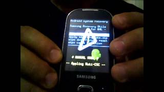 Unlocking & Hard Reset Samsung GT i5500  after too many wrong Pattern