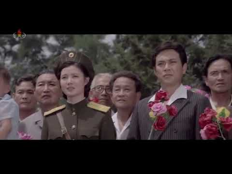 "National Anthem of North Korea  Aegukka  애국가  [DPRK Movie Scene,""내 나라 조선영화, My country]"