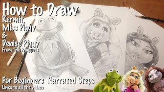 How to Draw the Muppets and Jonathan Rea WSBK oil painting update