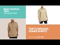 Top 12 Indiana Jones Shirts // Best Graphic Tees Collection