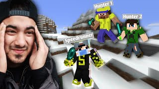 Minecraft Speedrunner VS 2 Hunters Manhunt