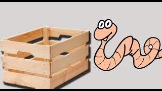 Ящики(Ёмкость) для дождевого червя.
