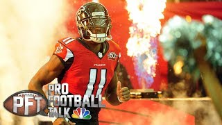 Julio Jones appears willing to extend holdout I Pro Football Talk I NBC Sports