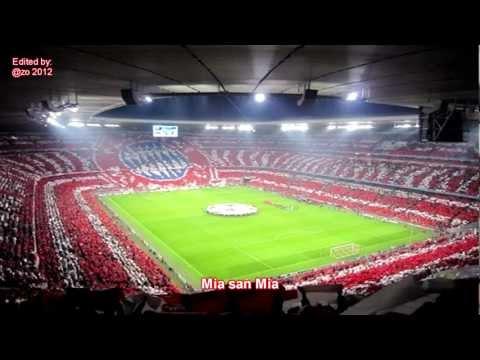 Mia San Mia (FC Bayern Vereinslied) | HD / with lyrics