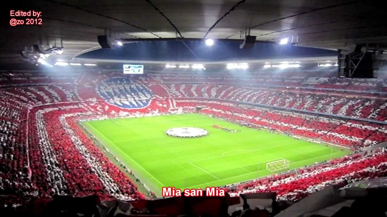 mia san mia fc bayern vereinslied hd with lyrics youtube. Black Bedroom Furniture Sets. Home Design Ideas
