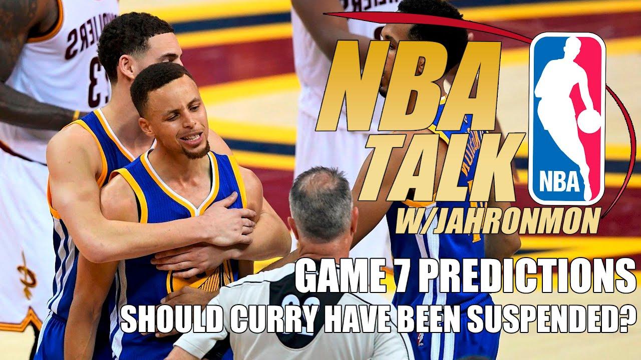 Cavaliers vs warriors game 7 predictions - Nba Talk Game 7 Predictions 2016 Nba Finals Warriors Vs Cavs Youtube
