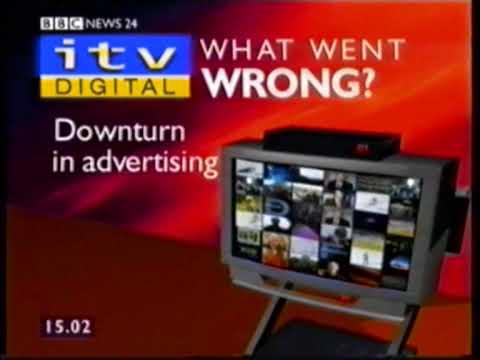BBC News 24 report on ITV Digital collapse