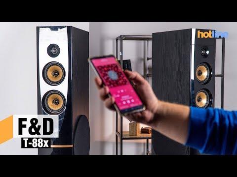F&D T 88x – обзор напольной мультимедийной акустики
