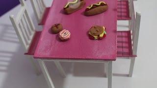 Barbie Masa ve Sandalye Yapımı - DIY - Kendin Yap Barbie Eşyaları - Bidünya Oyuncak