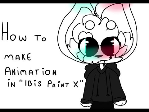 """How to make animation in """"Ibis Paint X"""" [read desc please!!!]"""