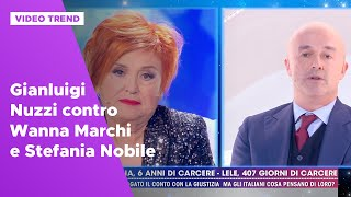 Gianluigi Nuzzi Contro Wanna Marchi E Stefania Nobile