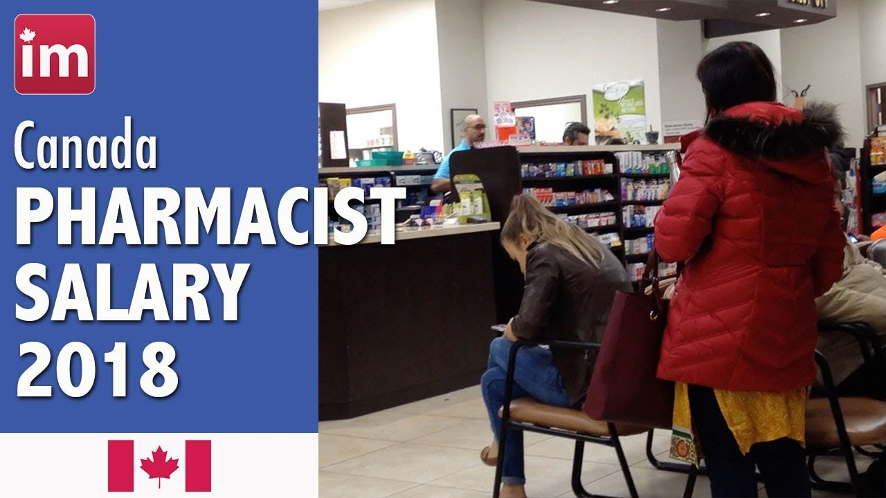 Pharmacist Salary in Canada | Wages