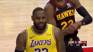 Lakers vs Hawks | Fans are disrespecting Lebron James | Black Lives Matter | NBA | Mamba Sports TV