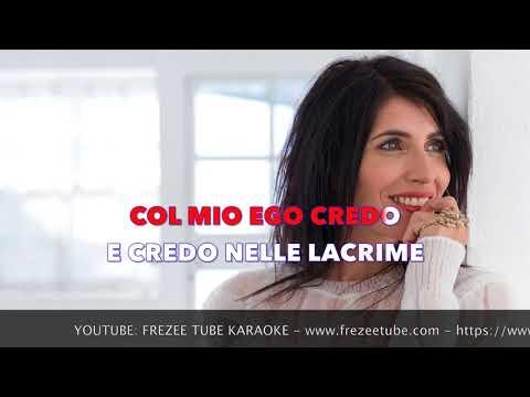 Giorgia - Credo - Karaoke con testo