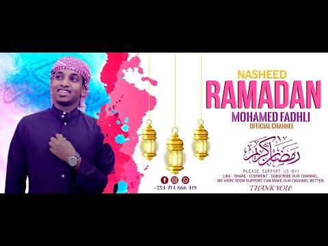 Ramadan | New Nasheed┇►Mohamed Fadhli┇Arabic Lyrics