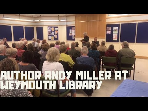 Author Andy Miller At Weymouth Library