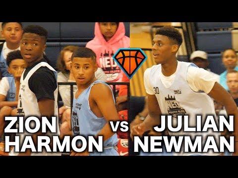 Zion Harmon VS Julian Newman!! | + Alonzo Gaffney Drops 41 at NEO YouthElite!!
