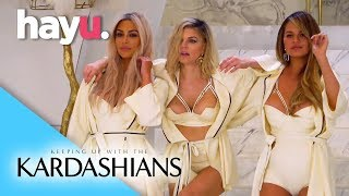 Shooting Fergie's MILF Video with Chrissy Teigen | Keeping Up With The Kardashians