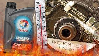 Total Quartz 7000 Energy 10W40 Jak skutecznie olej chroni silnik? 100°C