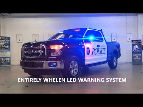 2018 FORD F150 POLICE PACKAGE / FLEET AUTO SUPPLY