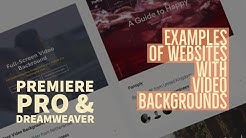 3/15 | Cool examples of websites with video backgrounds