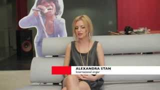 Alexandra Stan Interview Spain