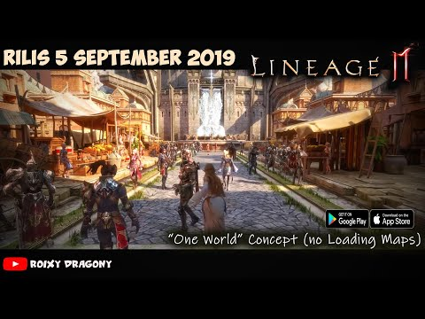 Lineage 2M (Trailer) Android/ios High-End Open World MMORPG