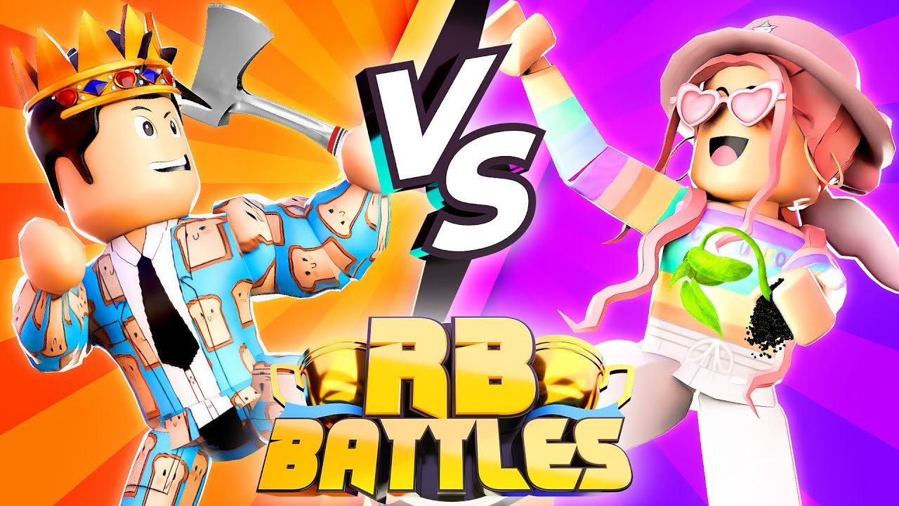 PeetahBread vs AshleyTheUnicorn - RB Battles Championship For 1 Million Robux! (Roblox)