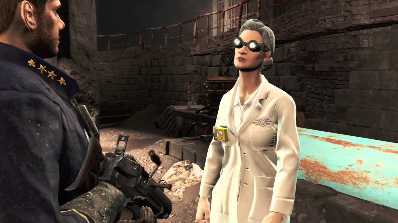 fallout 4 episode 289 doctor roslyn chambers