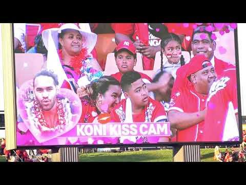 Mate Ma'a Tonga - Koni Kiss Cam and Dance Cam