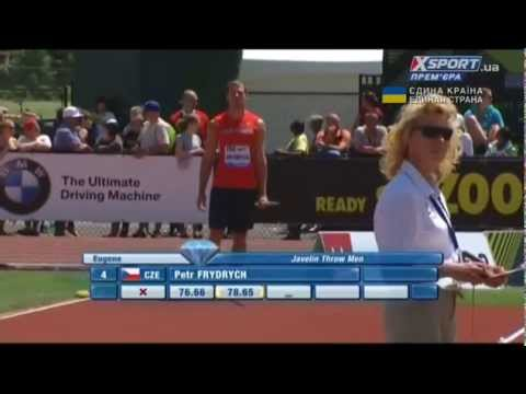 Frydrych CZE - 78,86 m. 4th place. Javelin. Eugene. DL-2014
