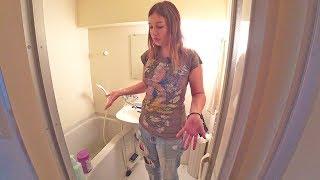 Квартиры в Японии. В унитазе моют руки| Киото| Япония