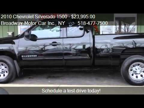 2010 chevrolet silverado 1500 ls extended cab 4wd for for Broadway motors rensselaer ny