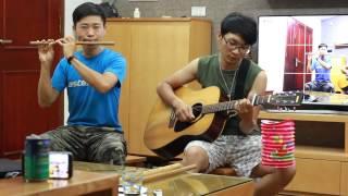 LK Trung Thu - Tuấn guitar, Khương flute