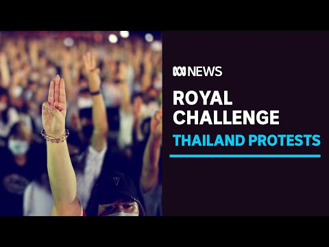 Thailand's student-led protests emerge as biggest challenge to establishment in years   ABC News
