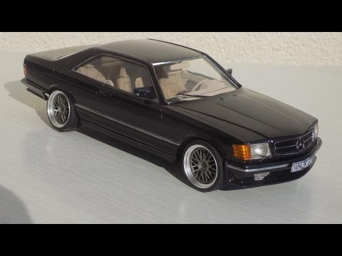building mercedes 500 sec lorinser 1 24 tamiya youtube. Black Bedroom Furniture Sets. Home Design Ideas