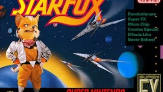 Star fox Level 1 asteroid belt