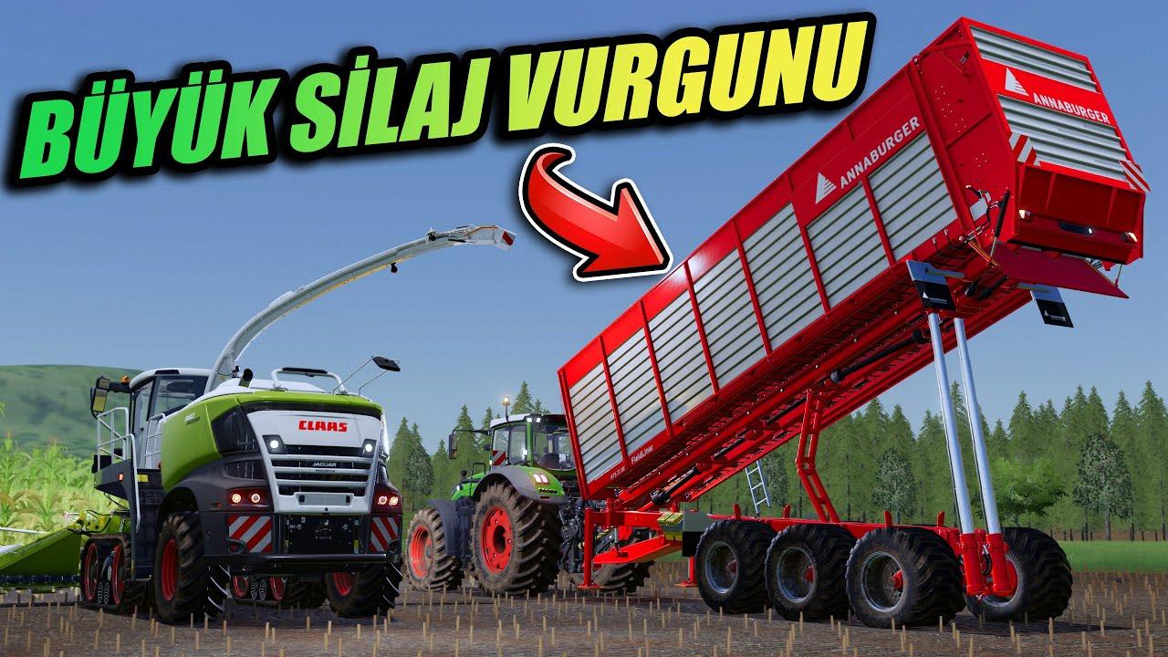 SİLAJ İŞİNE BAŞLADIK   BÜYÜK SİLAJ VURGUNU // THE VALLEY THE OLD FARM #7   FS19 !!